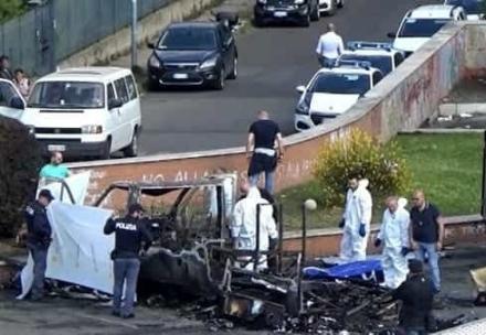 MONCALIERI - Arrestato a Moncalieri il presunto killer di Centocelle: a maggio tre sorelle morirono nel rogo di una roulotte