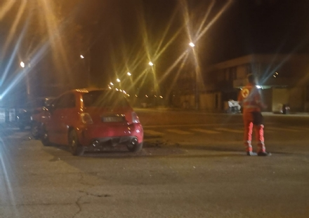 MONCALIERI - Brutto incidente in strada Palera: due feriti