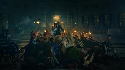 NICHELINO - Stupinigi protagonista di un promo Rai sulla Rivoluzione francese