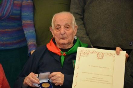 NICHELINO - Addio a Lorenzo Magliano, presidente onorario dellAnpi locale