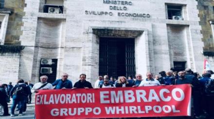 EX EMBRACO - I sindacati chiedono un incontro urgente al ministero: cassa integrazione fino a settembre