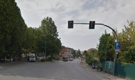 MONCALIERI - Dal mese di maggio acceso il vista red tra viale del Castello e strada Torino