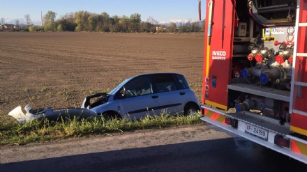 PANCALIERI - Doppio incidente stradale, feriti anche due carabinieri