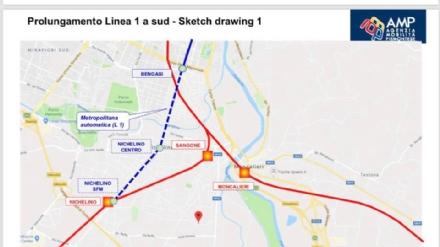 TRASPORTI - Prolungamento metro 1 fino a Nichelino: via ai fondi per lo studio di fattibilità