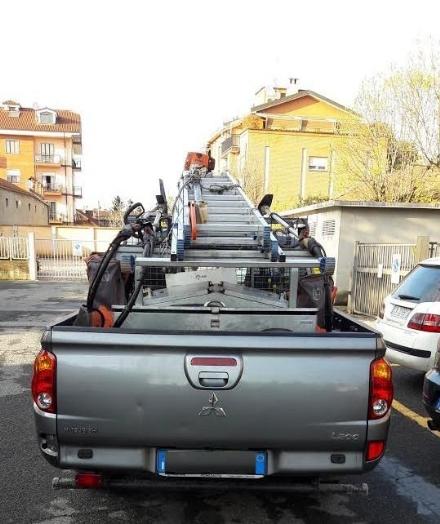 BEINASCO - Tensione nellaccampamento di Borgaretto. Due rom in manette per furto aggravato