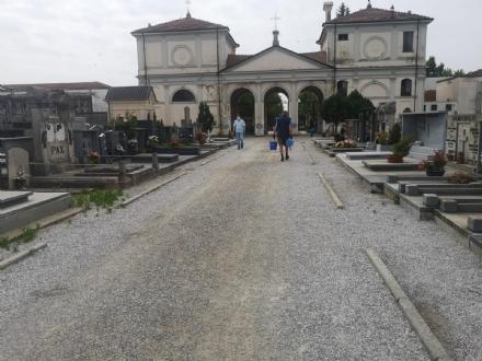 CARMAGNOLA - Riapre il cimitero e subito ripartono i furti sulle tombe