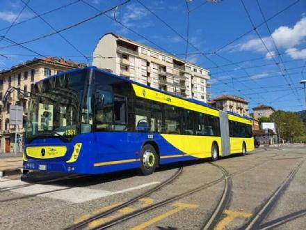 TRASPORTI - Da oggi in strada i nuovi autobus Gtt