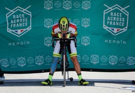 MONCALIERI - Marcello Luca di nuovo in gara nel ciclismo estremo