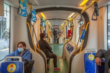 COVID - Con linizio delle scuole capienza all80% sui mezzi pubblici