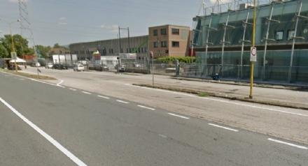 NICHELINO - Strada e rotatoria nuove per riorganizzare la viabilità in via Debouchè