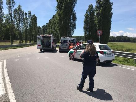 NICHELINO - Incidente alla palazzina di Caccia: due feriti