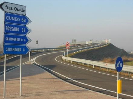 CARMAGNOLA - Variante est: stop alla convenzione in attesa della concessione ad Autostrada Dei Fiori