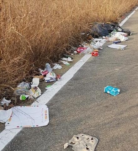 MONCALIERI - Periferie sempre più preda degli incivili: rifiuti abbandonati in via Montessori