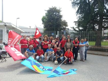 RIVALTA - I lavoratori della Service key di Rivalta, None e Volvera in sciopero da 48 ore