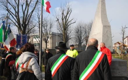 ORBASSANO - Commemorazione per il ricordo delle vittime del mitragliamento del trenino