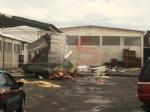 CARMAGNOLA - La furia del maltempo: Capannone della Sac demolito - LE FOTO - - immagine 10