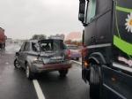 ORBASSANO - Incidente in tangenziale: due auto coinvolte, un ferito - immagine 1