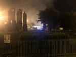 ORBASSANO - Un altro incendio nellazienda che tratta rifiuti: vigili del fuoco al lavoro tutta la notte - immagine 5