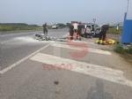 INCIDENTE MORTALE A PIOSSASCO - Motociclista perde la vita nello scontro con un furgone - FOTO - immagine 1
