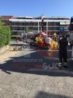 CARMAGNOLA - Camion investe una ciclista: trasportata durgenza al Cto è gravissima - FOTO - immagine 1