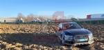 TROFARELLO - Incidente in tangenziale: auto finisce in mezzo al campo - FOTO - immagine 1