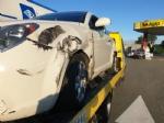 NICHELINO - Tre incidenti sulla tangenziale: ferito centauro di Moncalieri - immagine 1