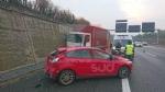 ORBASSANO - Incidente stradale al Sito: tre feriti portati al Cto - FOTO - immagine 1