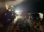 CANDIOLO - Incidente nella notte, camion si ribalta sulla provinciale - immagine 1