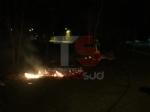 NICHELINO - Serata di lavoro per i vigili del fuoco per focolai alimentati dal vento - immagine 1