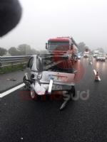 RIVALTA - Ennesimo incidente in tangenziale: 33enne in prognosi riservata - FOTO - immagine 1