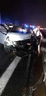 ORBASSANO - Incidente sulla tangenziale nella serata: un ferito - immagine 2
