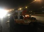 ORBASSANO - Incidente nella tarda serata al Sito, tangenziale chiusa e due feriti - immagine 1