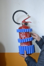 NICHELINO - Spigoli e termosifoni con la gomma per evitare traumi nelle palestre - immagine 1