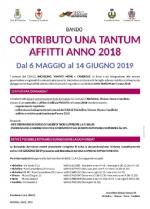 CANDIOLO-NICHELINO-VINOVO - Un sostegno alle famiglie per gli affitti - immagine 1