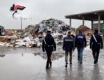 PIOBESI - Carabinieri scoprono 500 tonnellate di rifiuti stoccate illecitamente: marito e moglie denunciati - VIDEO - immagine 1