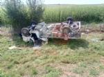 AUTOSTRADA TORINO-SAVONA - Perde il controllo del camion che si ribalta nella scarpata: 51enne ferito - immagine 1