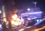 MONCALIERI - Grave incendio nella notte nel deposito di gomme di strada Carignano - LE FOTO - - immagine 2