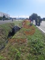 PIOBESI - Brutto incidente sulla provinciale 145: tre feriti in ospedale - immagine 1