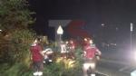TROFARELLO - Bomba dacqua nella notte: il forte vento sradica il tetto di una casa - VIDEO - immagine 1