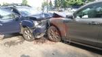 BEINASCO - Brutto incidente in via San Luigi: tre feriti e quattro auto distrutte - FOTO - immagine 1
