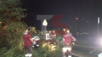TROFARELLO-CARMAGNOLA - Alberi abbattuti, strade e cantine allagate: nottata di super lavoro per i vigili del fuoco - FOTO - immagine 1