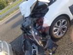 LA LOGGIA - Incidente sulla tangenziale: due feriti in ospedale - immagine 1