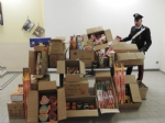 MONCALIERI - Sequestro record di fuochi dartificio, due ambulanti denunciati dai carabinieri - immagine 1
