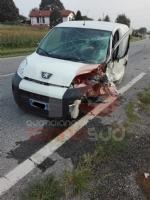 CARIGNANO - Violento scontro sulla provinciale per Ceretto: due feriti - immagine 2