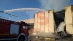 CANDIOLO - Maxi incendio nellex mattatoio al confine con None - immagine 2
