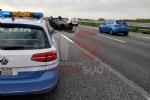 RIVALTA - Incidente stradale, grave motociclista. Caos e code in tangenziale - FOTO - immagine 1