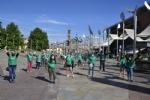 NICHELINO - I volontari raccolgono mascherine e guanti abbandonati per la Giornata dellAmbiente - FOTO - immagine 1