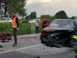 TRE MORTI A LA LOGGIA - Scontro frontale, tragedia assurda sulla provinciale per Carignano - FOTO - immagine 6