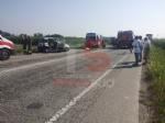 CARIGNANO - Brutto incidente sulla provinciale: tre feriti, uno è grave - FOTO - immagine 1