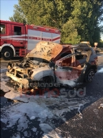 NICHELINO - Grave incidente in tangenziale: quattro feriti, unauto a fuoco - immagine 1